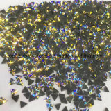 2018 Hot Sale and Best Quality Citrine Ab Triangle Wholesale High Quality Hot Fix Rhinestone (TP- citrine ab)