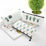 Wholesale Lovely Canvas Pencil Case for Student and Kids