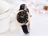 New Arrival Alloy Watch with Genuine Leather for Girl