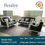 New Arrival America Style Leather Sofa for Home Furniture (6011#)