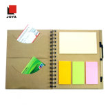 Cheap Wholesale Hard Cover Spiral Memo Notebook with Pen