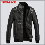Best Sell Winter PU Jacket for Men Fashion Cloth
