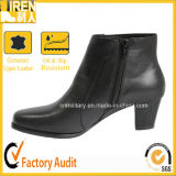 Short Heel Female Lady Women Leather Office Shoes