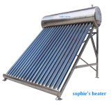 Stainless Steel 58mm Vacuum Tube Solar Water Heater