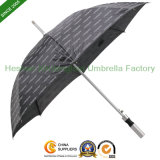 Automatic Aluminium Gift Straight Umbrella with Printed Logos (SU-0023AF)