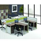 Premium Aluminum Alloy Frame Staff Desk (PS-P80-four person)
