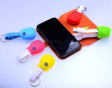 Cartoon Shape Silicone Retraceable Universal Mobile Charging Cable