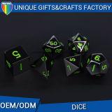 Custom Size Die Casting Metal Dice for Casino Games