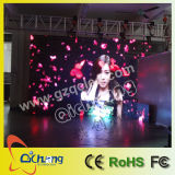 P25 Transparent LED Curtain Screen Was Exported to Portugal