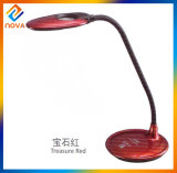 Hot Selling Flexible Reading LED Writing Table Lamp with Clock