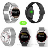 2017 Fashionable Bluetooth Smart Watch Phone with Magnet Charging N3