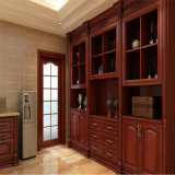 North American Maple Red Oak Solid Wood Wine Cabinet