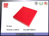 Red PP Plate with Good Fatigue Resistance