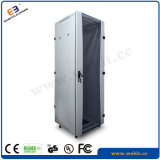 Floor Network Cabinet with Crescent Glass Door Design (WB-NC-xxxx25G)