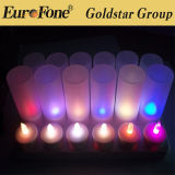 New Rechargeable Flameless LED Candle Light