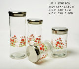 Glass Storage Jar (ABP049)