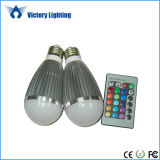 Indoor Lighting 9W RGB LED Bulb