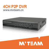 Cost-Effective 4CH D1 Embedded DVR with P2p Function (MVT-6204)