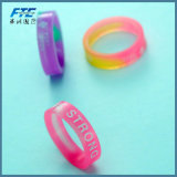 Unisex Custom Size and Logo Silicone Ring for Lover