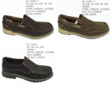 No. 51083 Two Styles Men′s Leather Shoes Casual Shoes
