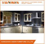 White Classic Style PVC Membrane Home Furniture Kitchen Cabinet