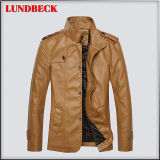 Best Sell PU Jacket for Men Fashion Coat