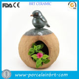 New Product Indoor Lovely Bird Bonsai Pot Planter