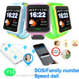 1.54′′ Touch Screen Kids GPS Tracker Watch with APP (Y12)