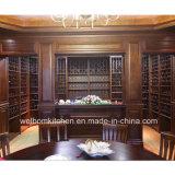 Welbom Exquisited Classic Walnut Wood Wine Rack Cellar