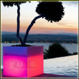 Luminous Pots Light-up Flower Pots Luminous Cubes Garden Pots