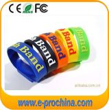 Silicone Logo Printing Barcelet Shape USB Flash Drive (EP274)