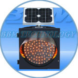 Solar Warning Flashing LED Traffic Lights for Traffic Road (SG300-3-15A)