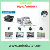 HD 1080P 4/8CH SSD Hard Drive Mobile DVR Solution for Vehicle Video Surveillance