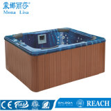 Outdoor Square 5 People Whirlpool Massage SPA Tub (M-3321)