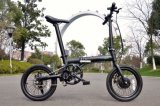 36V 5 Speed Assistance Foldable Lithium Electric Bicycle (16F01)