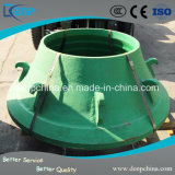 Strong Wear Resistance High Manganese Bowl Liner for Cone Crusher