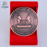 Hot Sell Promotion Gift Antique Custom Bronze Metal Souvenir Coin