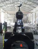 Shanxi Black Russian Style Granite Tombstone