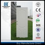 3 Oval Panel Steel Door