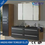 High Quality Melamine Glass Basin Bathroom Double Sink Vanity