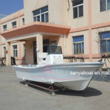 Liya 5.8m 50HP Outboard Motor Boat Fiberglass Fishing Boat