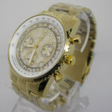 New Design Stainless Steel Chronograph Men′s Watches Top Brand