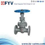 API6d Cast Steel Soft-Sealing Gate Valve Manual Operation