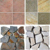Outdoor Home Cheap Natural Stone Wall Floor Tile Slate