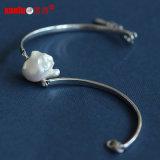 Fashion Baroque Natural Cultured Pearl Bangle Jewelry (E150052)