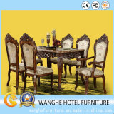 Antique Wood Wedding Restaurant Hotel Banquet Chair and Table