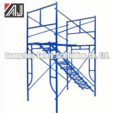Steel Frame Scaffolding System for Masonry Construction