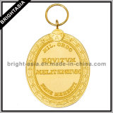 Professional Factory Custom Metal Medal with 3D Pattern (BYH-101044)
