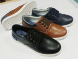 Lace up Men′s Casual Leather Shoes Casual Shoes (XS150504)