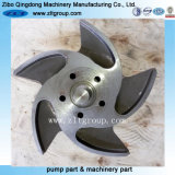 Stainless Steel /Alloy Steel Chemical Pump Durco Pump Impeller